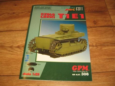 T1E1 Lehký tank
