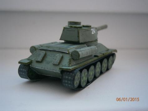 Tank T-34-85
