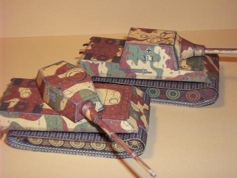 Tanky Tiger I, Jagdtiger.