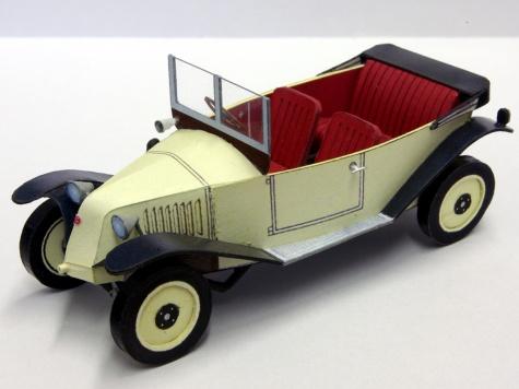Tatra 11 - čtyřmístné otevřené provedení