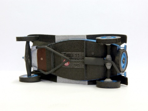 Tatra 11 - dvoumístné provedení