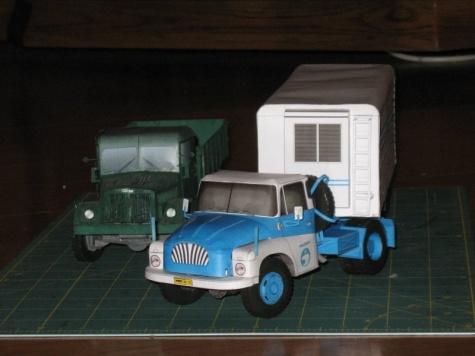 Tatra 137 4x4 TN s mraziarenskym navesom - Betatest