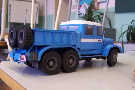Tatra 141 - modra