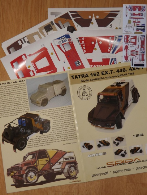 Tatra 162 EX.7. 440. 4x4.1 /  1:32-recolor (Kinza)