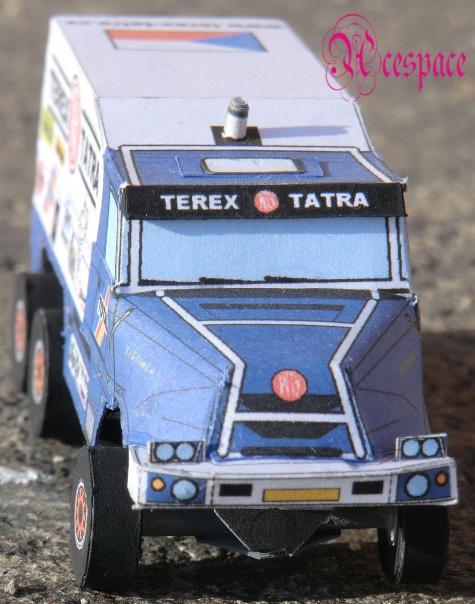 Tatra 163 Jamal 6x6 Dakar Fiction