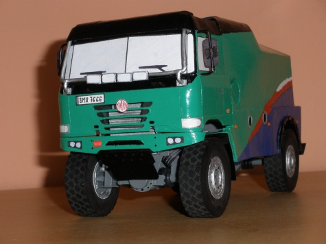 Tatra 4x4 Marek Spáčil (Drtič kamazů)