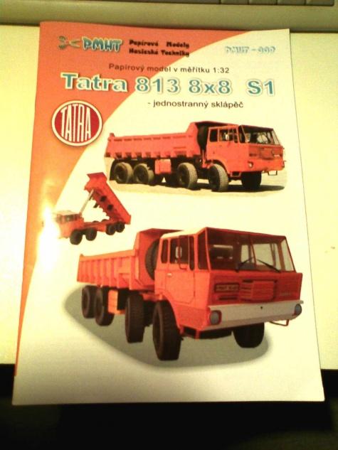 Tatra 813 8X8  Drtikol