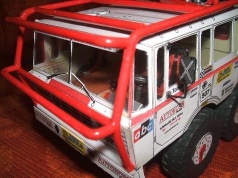 Tatra 813 extreme truck trial