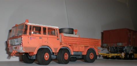 Tatra 813 TP  4x4, 6x6
