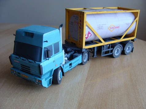 Tatra 815 - 200N51 + kontejnerový návěs