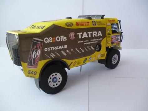 Tatra 815 - 2Z0 R45, Dakar 2011, A. Loprais