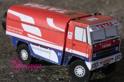 Tatra 815  4x4 Dakar 1991