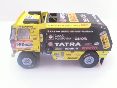 Tatra 815-2 Z0 R45 12.400 4x4, Dakar 2009, A. Loprais
