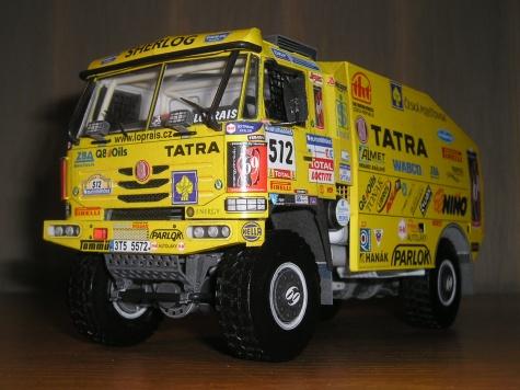 TATRA 815-2 ZO R45 12.400 4x4.1 DAKAR 2007