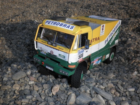 Tatra 815 2T0R45 4x4.1 VK Petrobras Dakar 2011