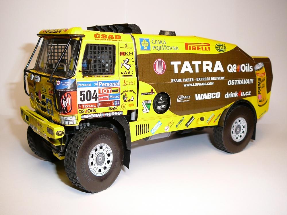Tatra 815 2Z0R45 12.400 4*4.1 Dakar 2011 by Rybak