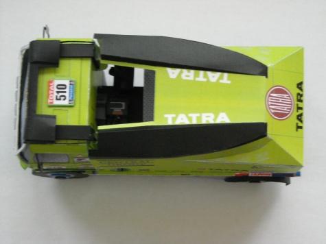 Tatra 815-2Z0R45 4x4, Dakar 2010, M. Spáčil