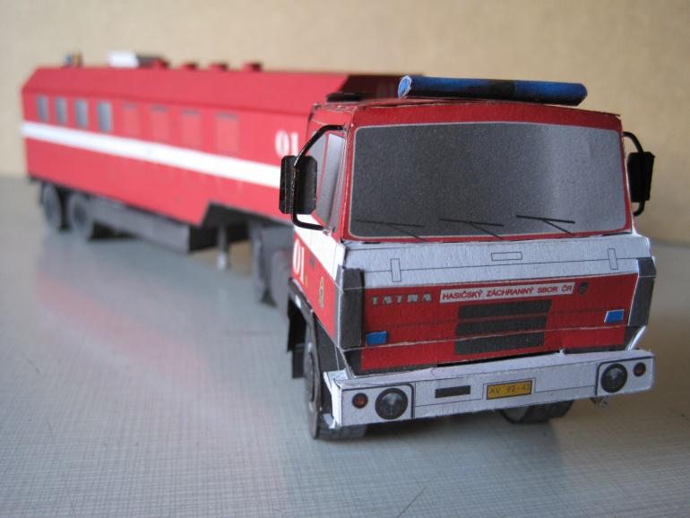 tatra 815 TN 4x4-navěs Orličan N-10S