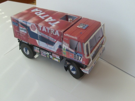 Tatra 815 4x4, Dakar 1988, Loprais