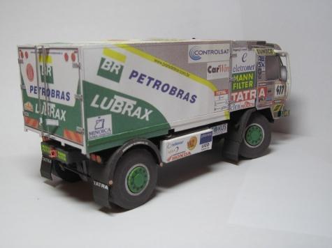 Tatra 815 4x4 BR Petrobras Lubrax Dakar 2002