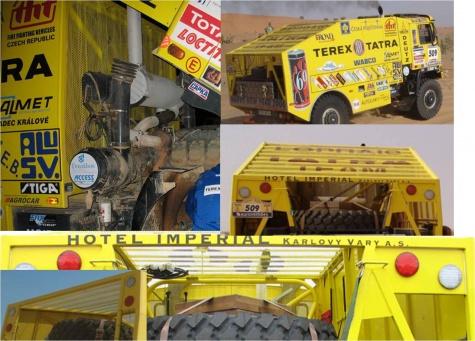 TATRA 815 4x4 Dakar 2006                                           By Rybak