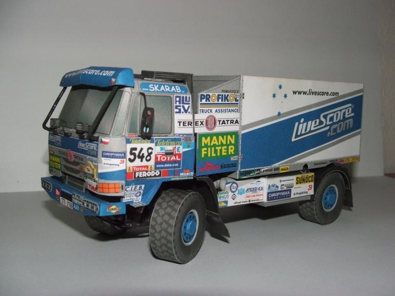 Tatra 815 4x4 Letka Racing Team 2005