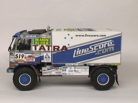 Tatra 815 4x4 Letka Racing Team 2007   / Vimos / - Kovář