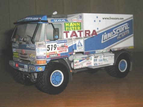 TATRA 815 4x4 LETKA RACING TEAM 2007