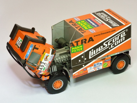 Tatra 815 4x4 Livescore Africa eco race