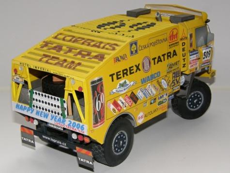 Tatra 815 4x4 Loprais Tatra Team 2006