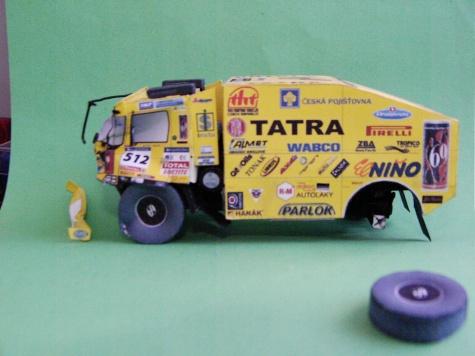 Tatra 815 4x4 Loprais Team 2007