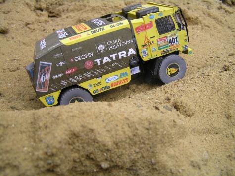 Tatra 815 4x4 Loprais Team 2008