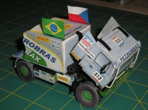 Tatra 815 4x4 Petrobras Lubrax 2006 Cíl