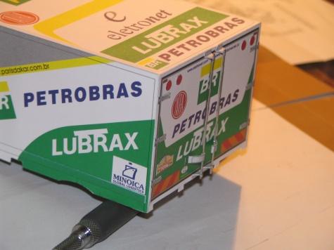 Tatra 815 4x4 Petrobras Lubrax dakar 2002