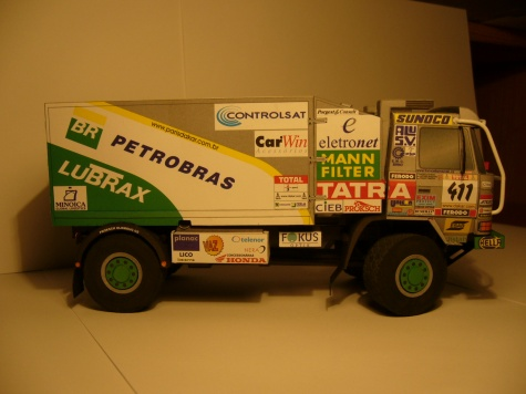 Tatra 815 4x4 Petrobras