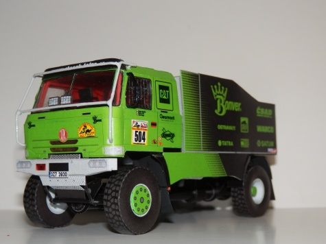 Tatra 815 4x4 Staněk Tatra Team 2012