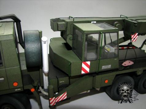Tatra 815 6x6 AV 14 - vojenská verze