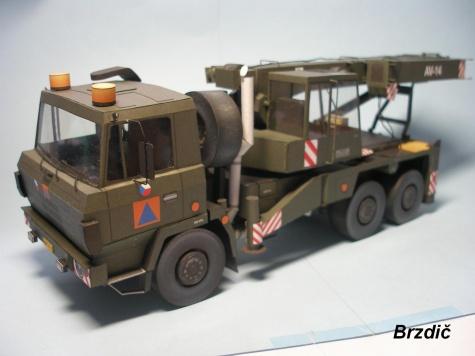 Tatra 815 6x6 AV 14 vojenská