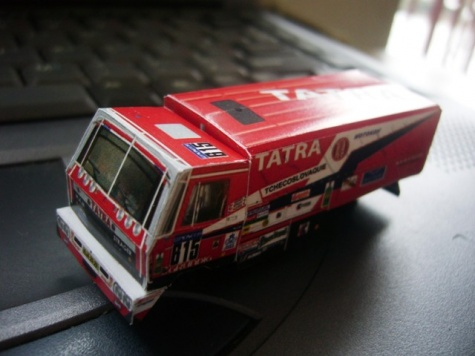 Tatra 815 6x6 Dakar