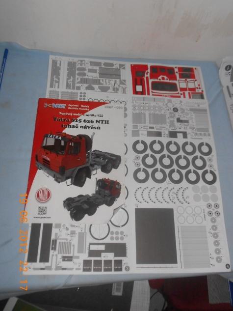 Tatra 815 6x6 NTH + Vana