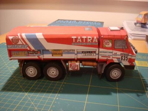 Tatra 815 6x6 VE Rallye Dakar ´86