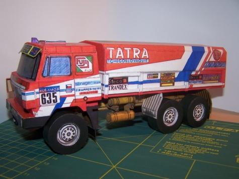 Tatra 815 6x6 VE Rallye Dakar 86 / ABC / 1:32