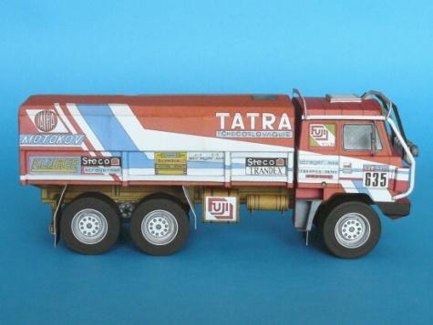 Tatra 815 6x6 VE Rallye Dakar 86