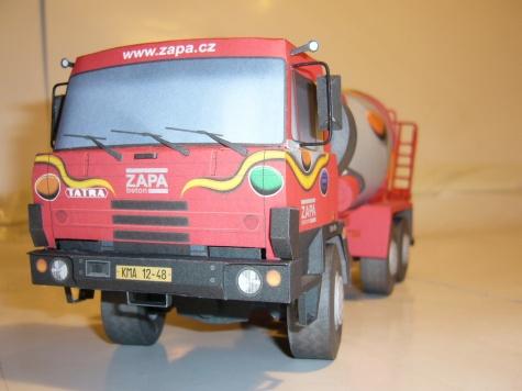 Tatra 815 autodomíchávač ZAPA/Alfik/