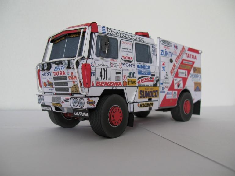 Tatra 815 Dakar 1994 PKG - Kovář