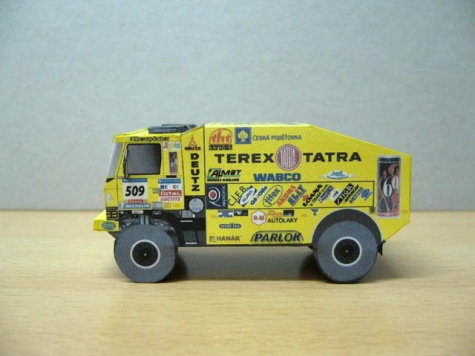 Tatra 815 Dakar 2006 Loprais