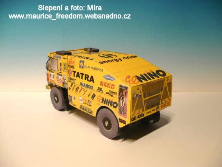 Tatra 815 Dakar 2007 Loprais