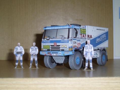 Tatra 815 dakar 2007 T.Tomeček