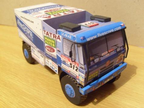Tatra 815 2TOR 45, Dakar 2009, T. Tomeček
