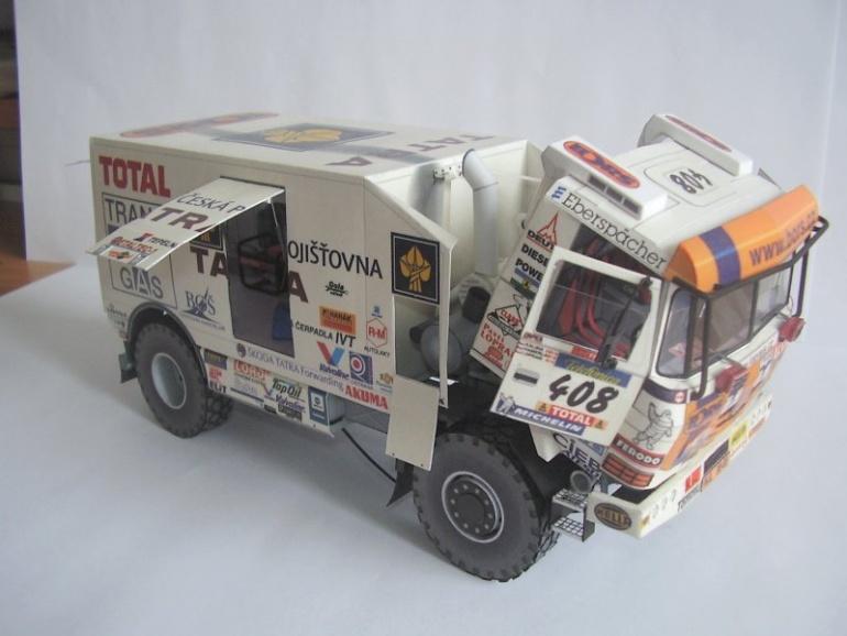 Tatra 815 Dakar Puma 2003 Loprais